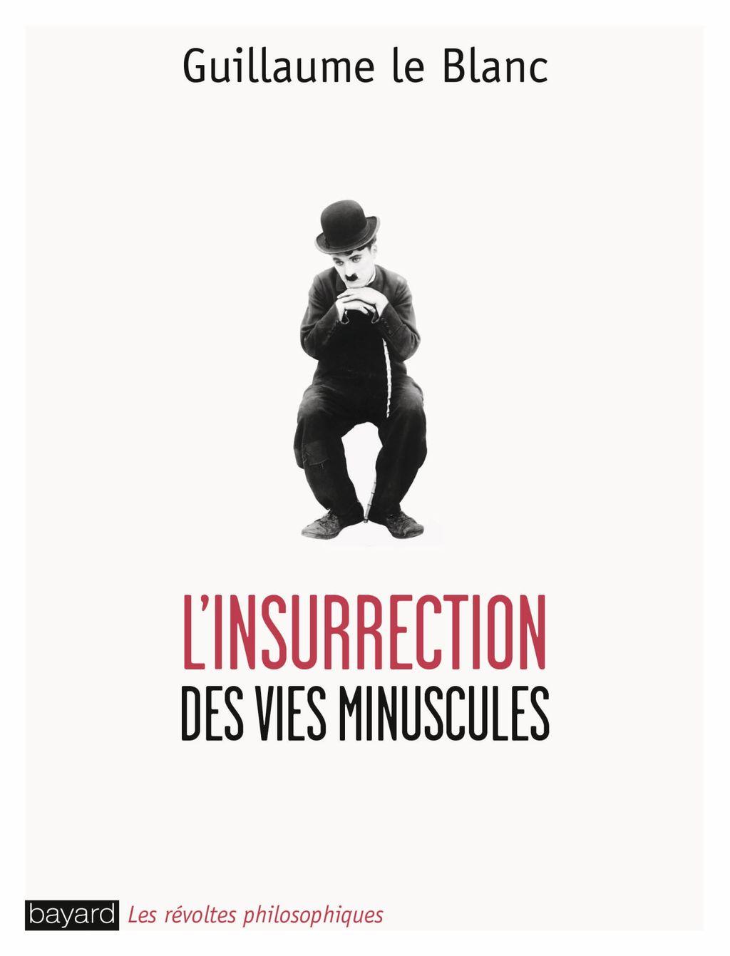 «L'insurrection des vies minuscules» cover