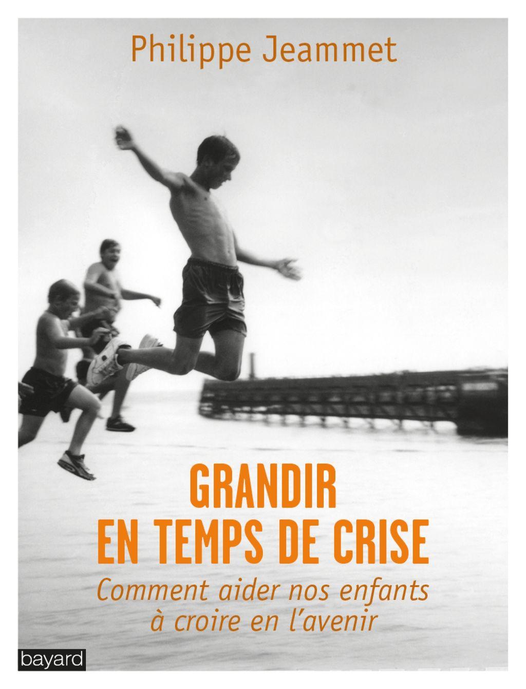 «GRANDIR EN TEMPS DE CRISE» cover