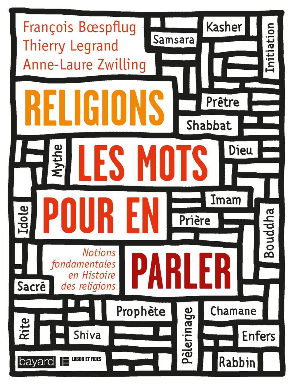 Couverture de «RELIGIONS, LES MOTS POUR EN PARLER»
