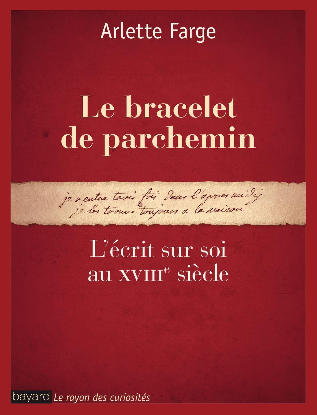«Le bracelet de parchemin. NE» cover