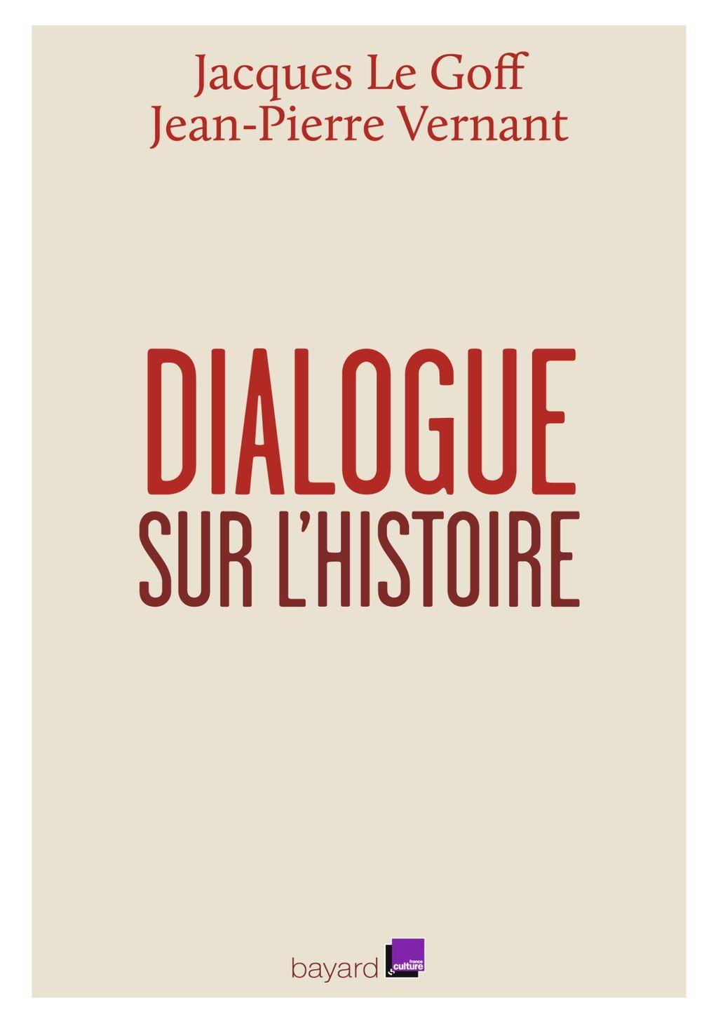«Dialogue sur l'histoire et sa transmission» cover