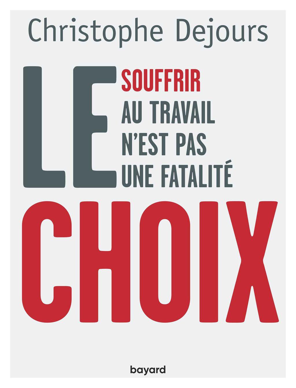 «Le choix» cover