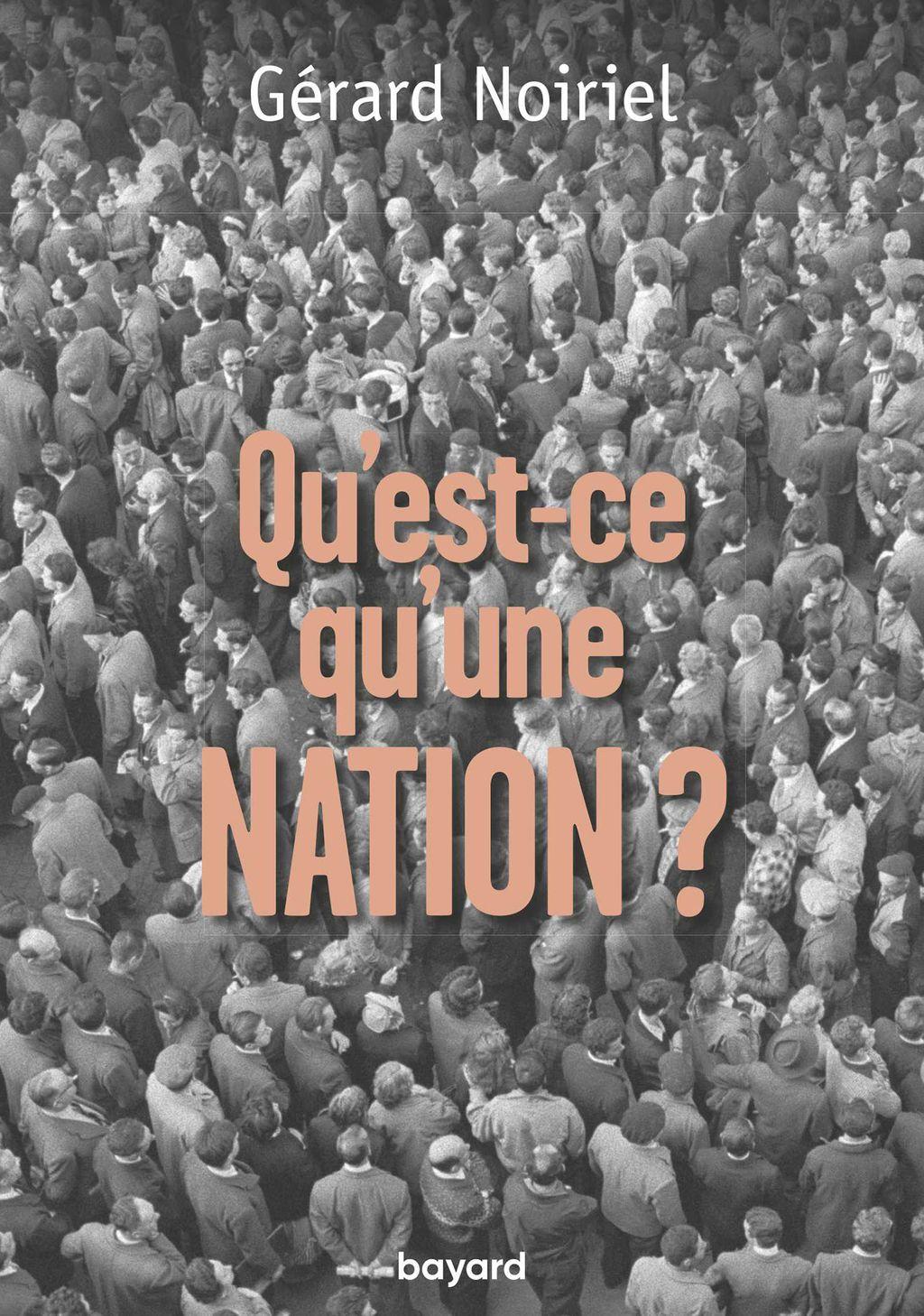Couverture de «QU'EST-CE QU'UNE NATION ?»