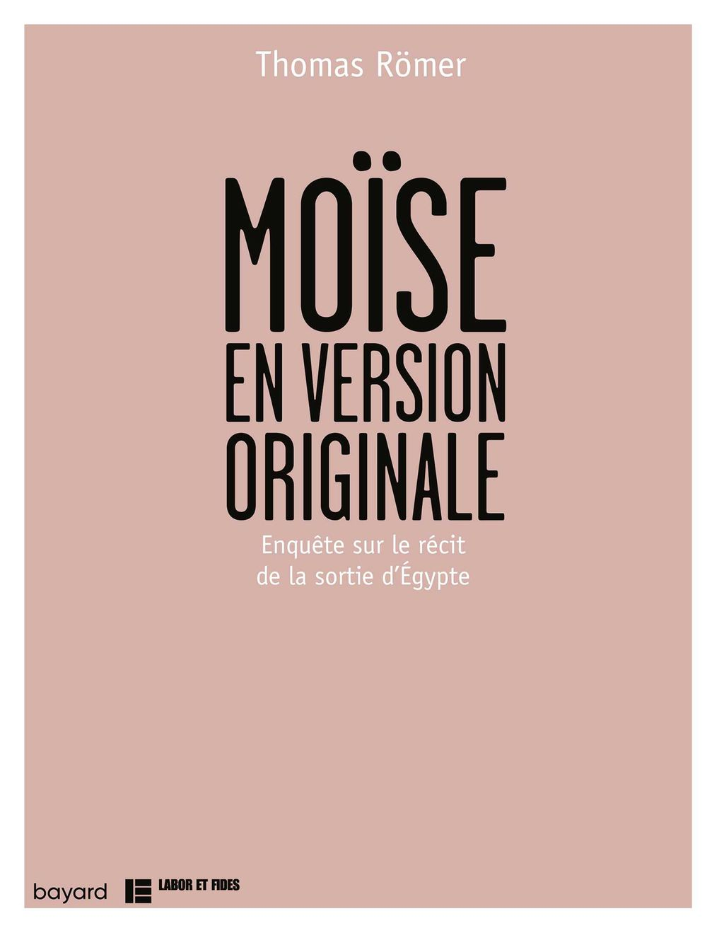 Couverture de « Moïse en version originale »