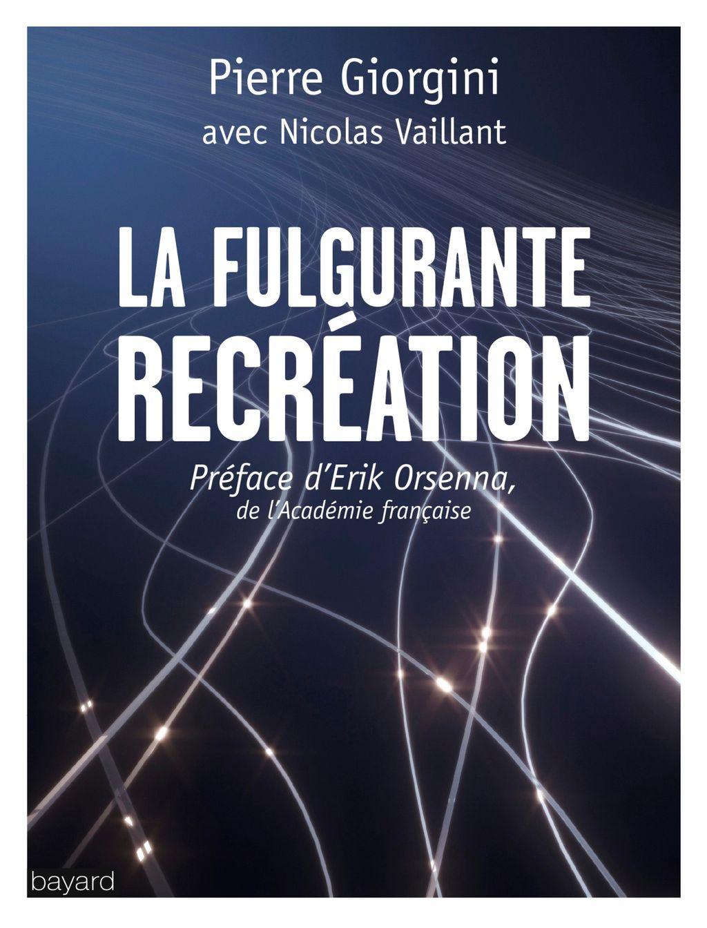 «LA FULGURANTE RÉCRÉATION» cover