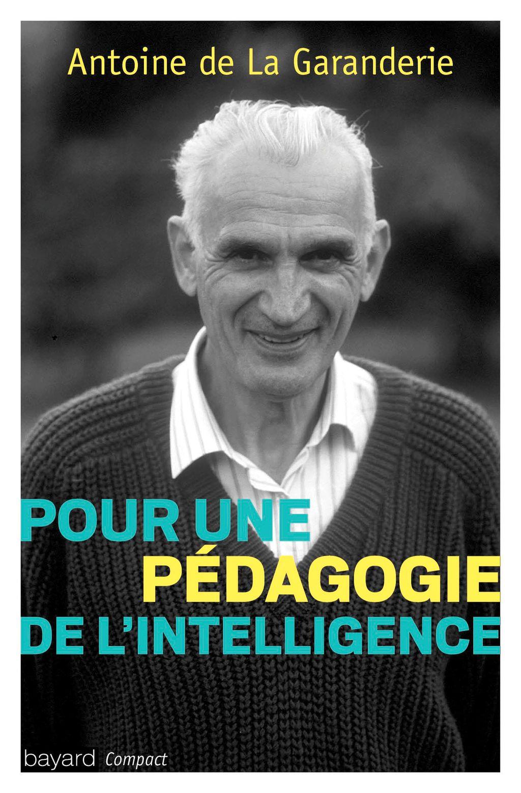 Couverture de «Pour une pédagogie de l'intelligence»