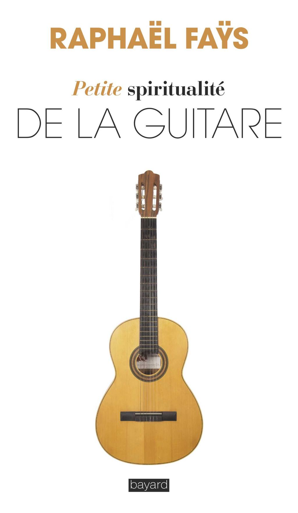 «Petite spiritualité de la guitare» cover