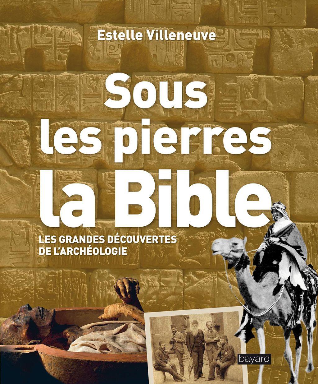 Couverture de «Sous les pierres, la Bible»