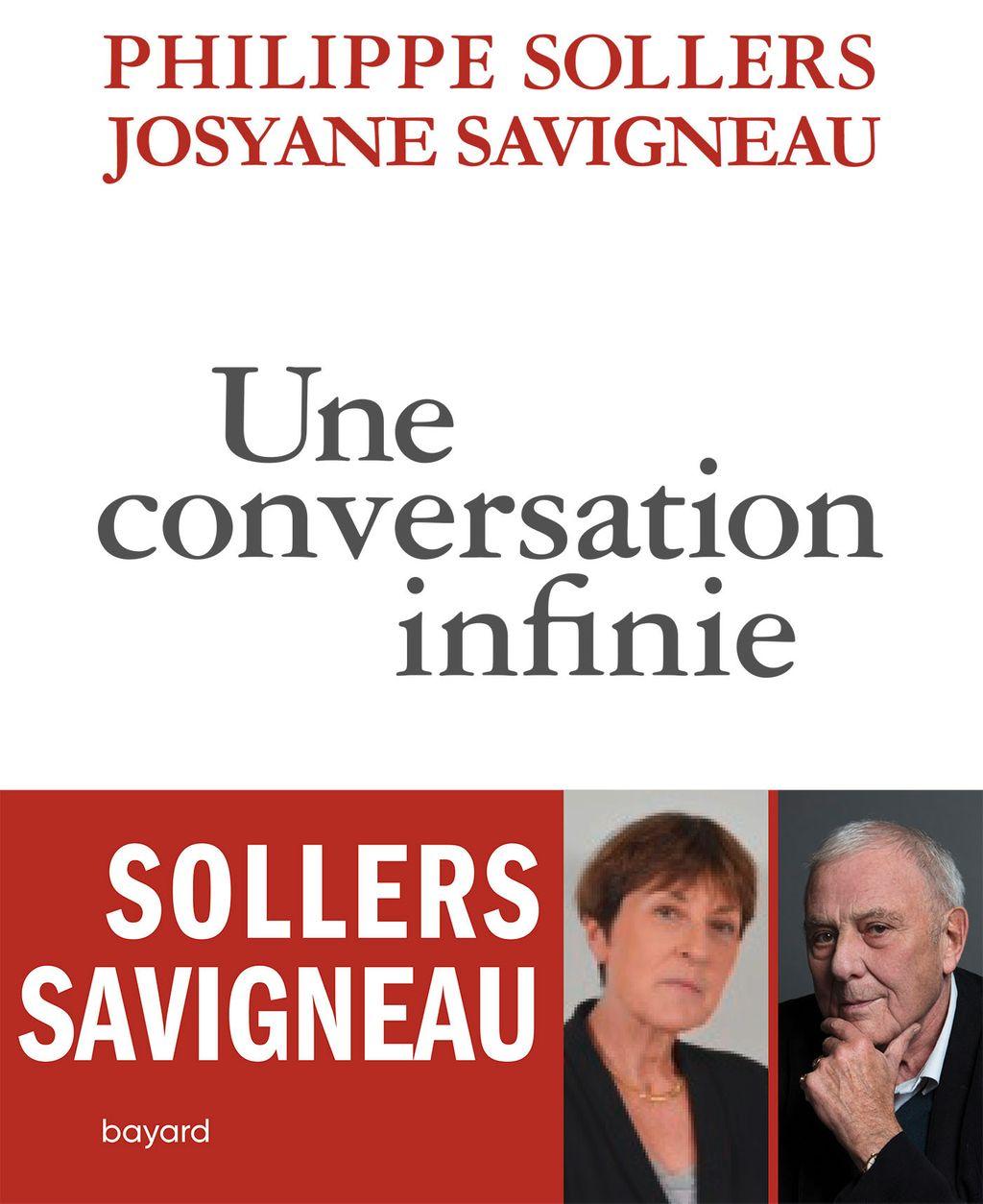 Couverture de «Une conversation infinie»