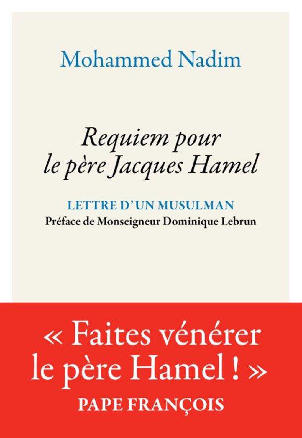 Couverture de «Requiem pour le Père Jacques Hamel»