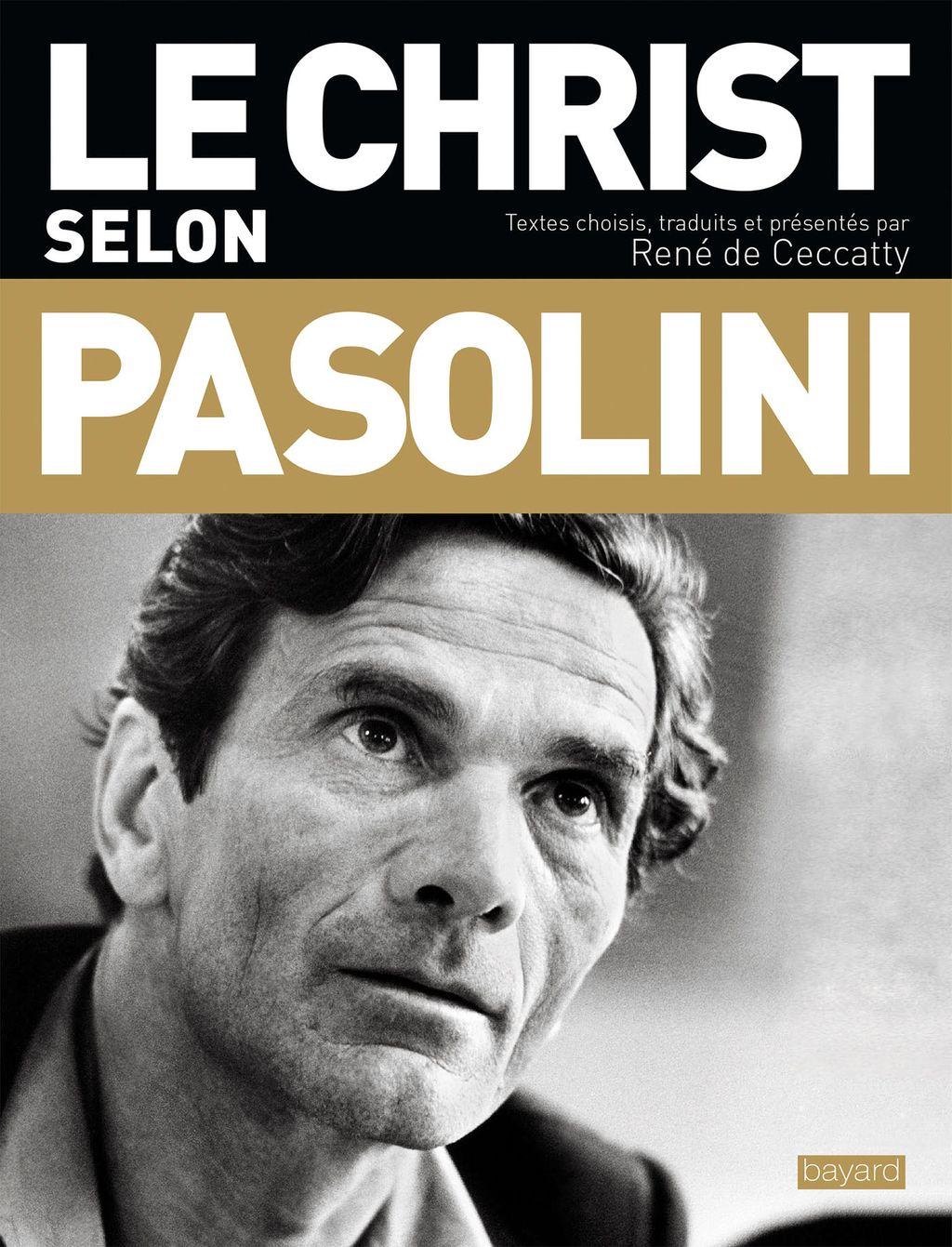 Couverture de «Le Christ selon Pasolini»