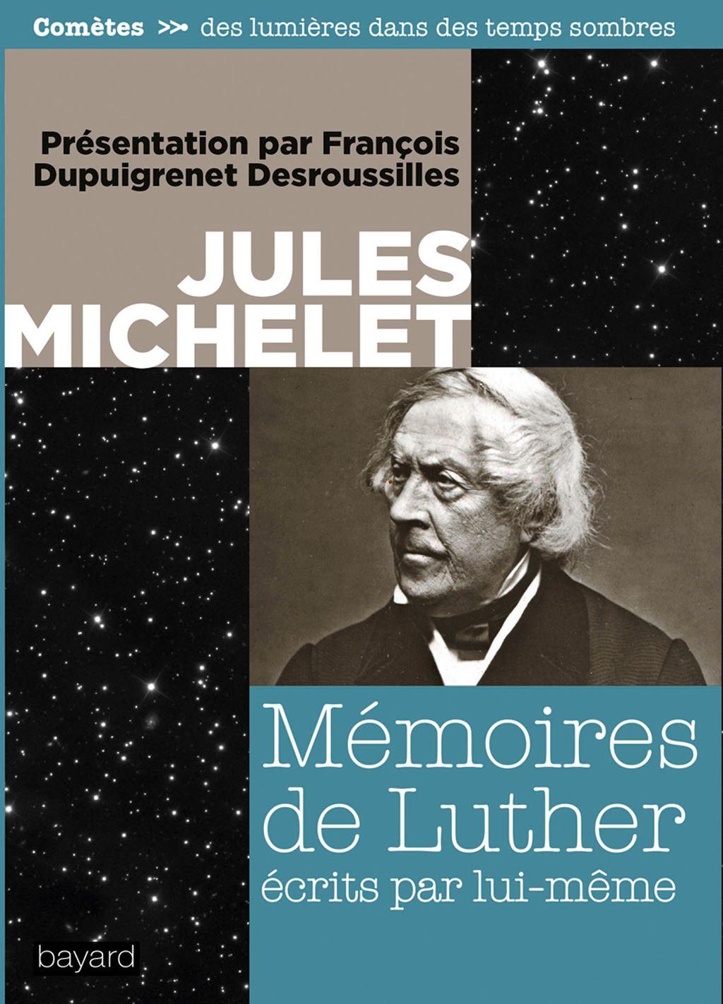 Couverture de «Mémoires de Luther par lui-même»