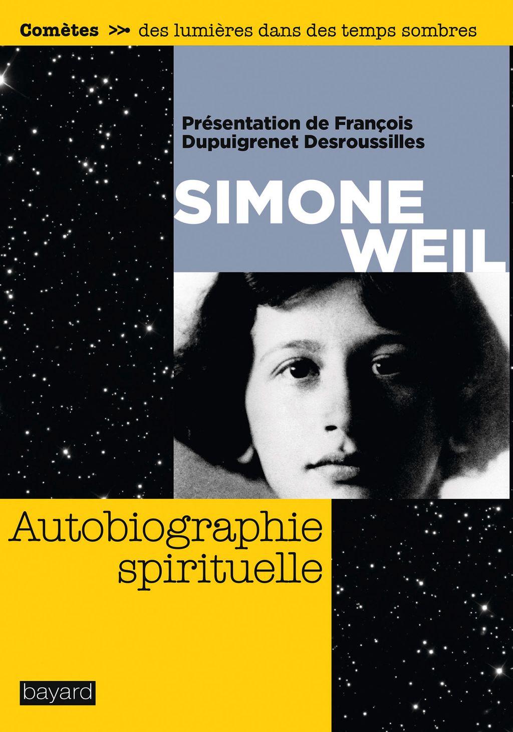 Couverture de «Autobiographie spirituelle»