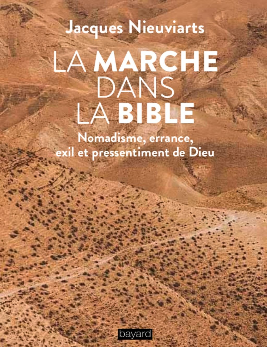 Couverture de «La marche dans la Bible»