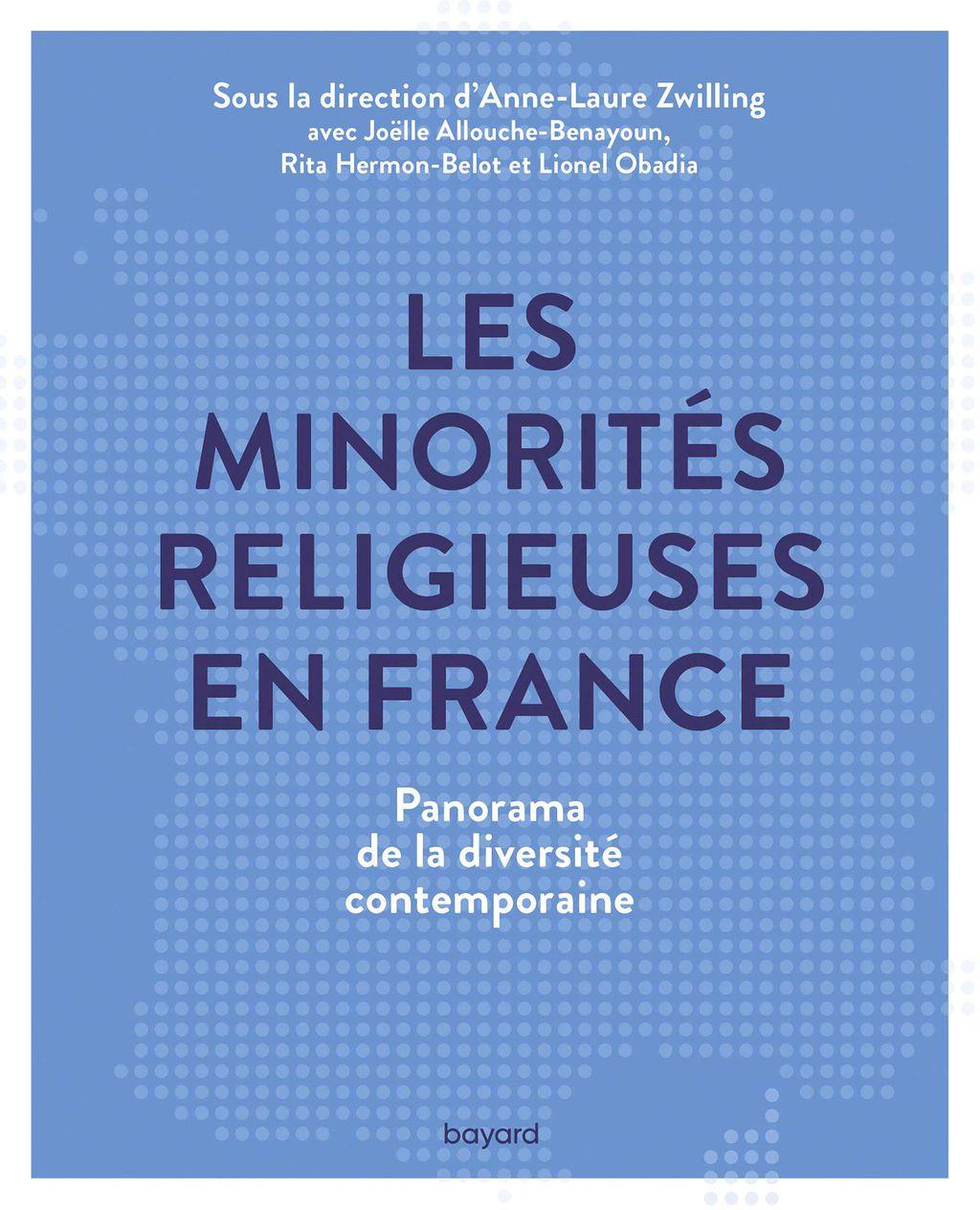 Couverture de «Les minorités religieuses en France»