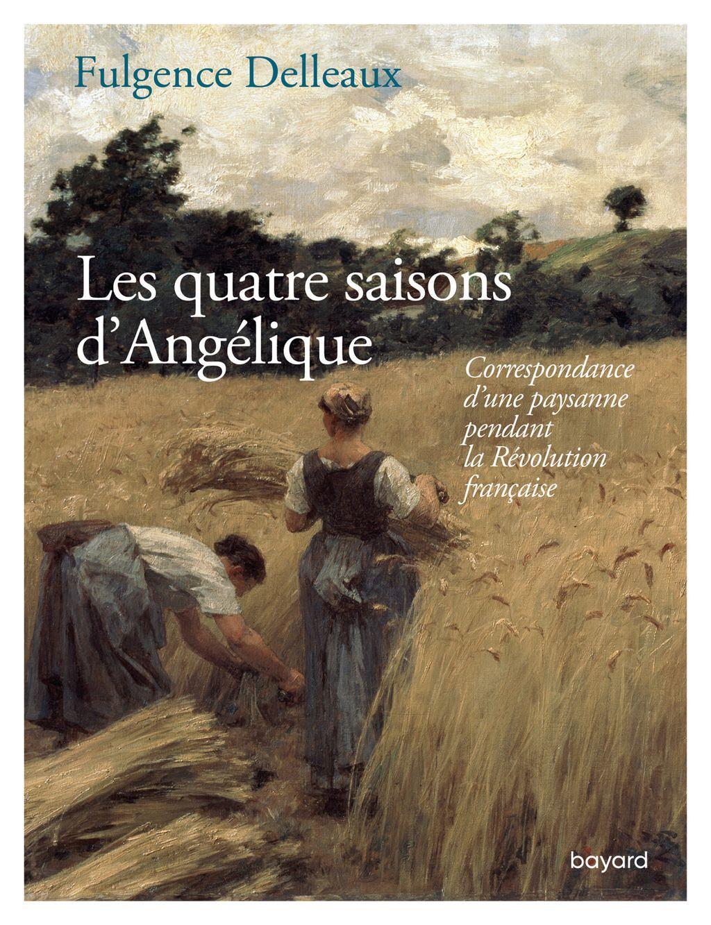 Couverture de «Les quatre saisons d'Angélique»