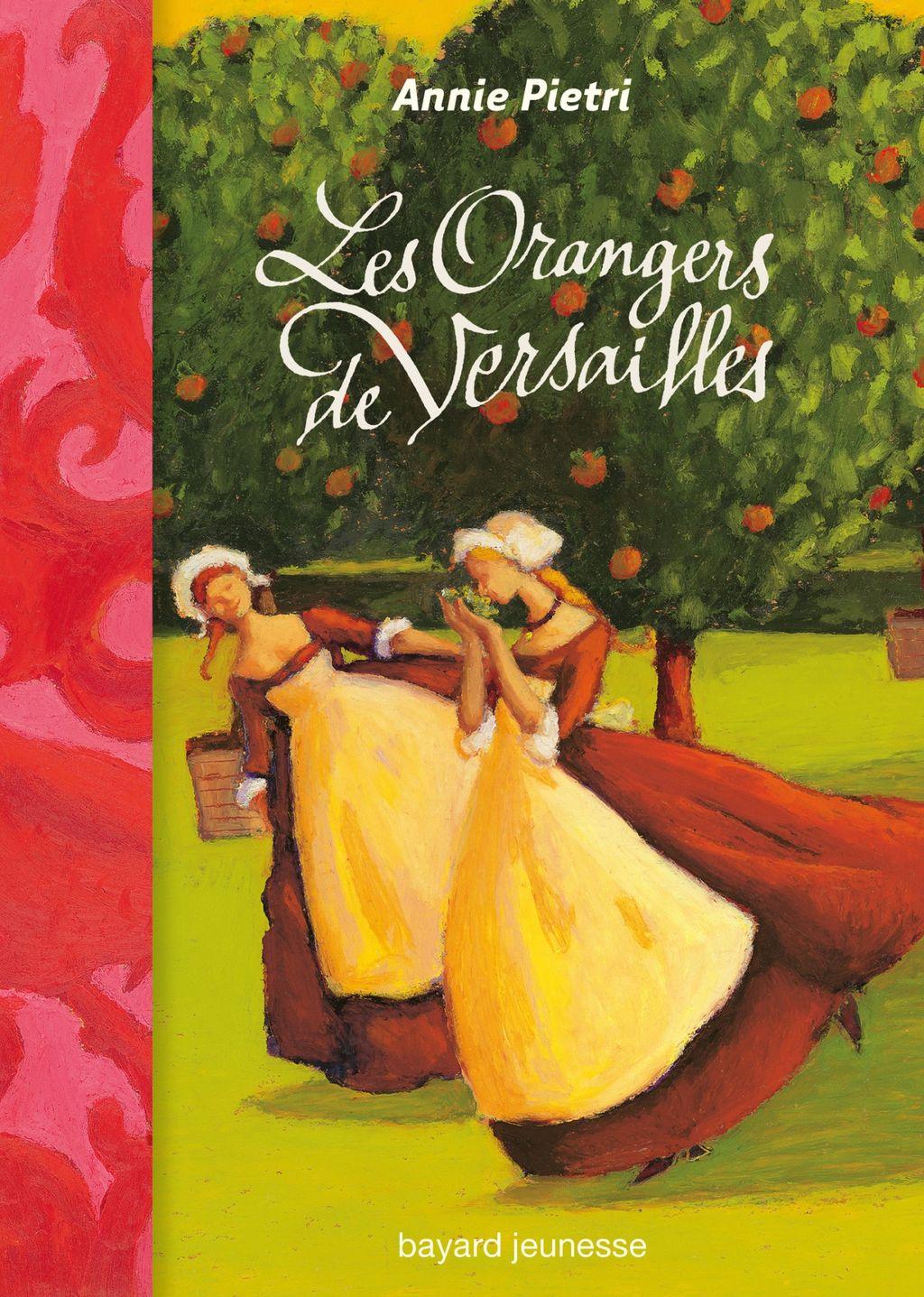 «Les orangers de Versailles» cover