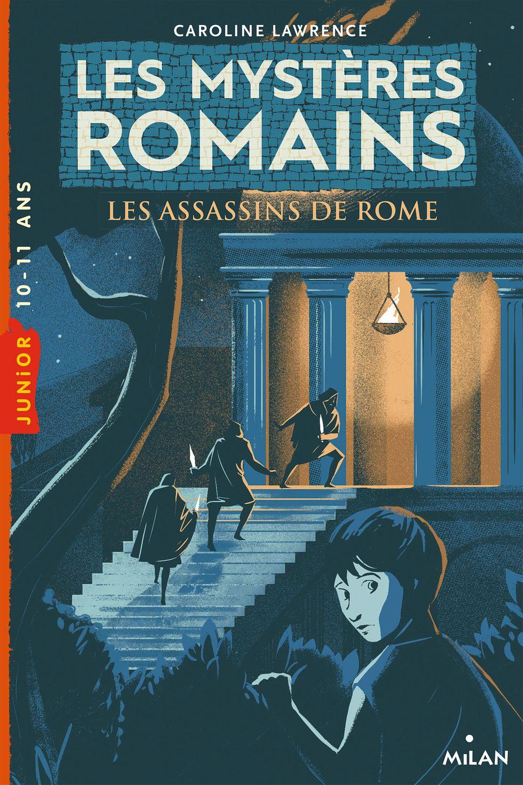 Couverture de «Les assassins de Rome»