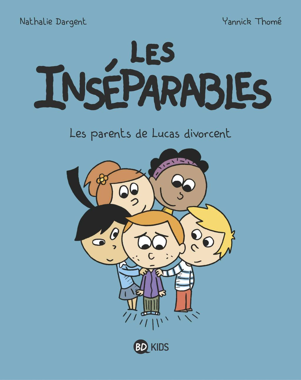 Couverture de « Les parents de Lucas divorcent »