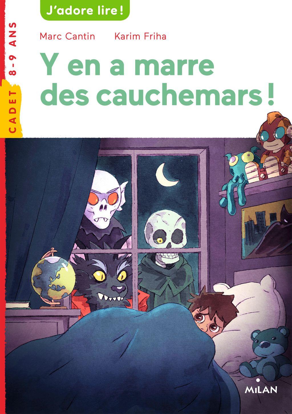 Couverture de «Y en a marre des cauchemars!»