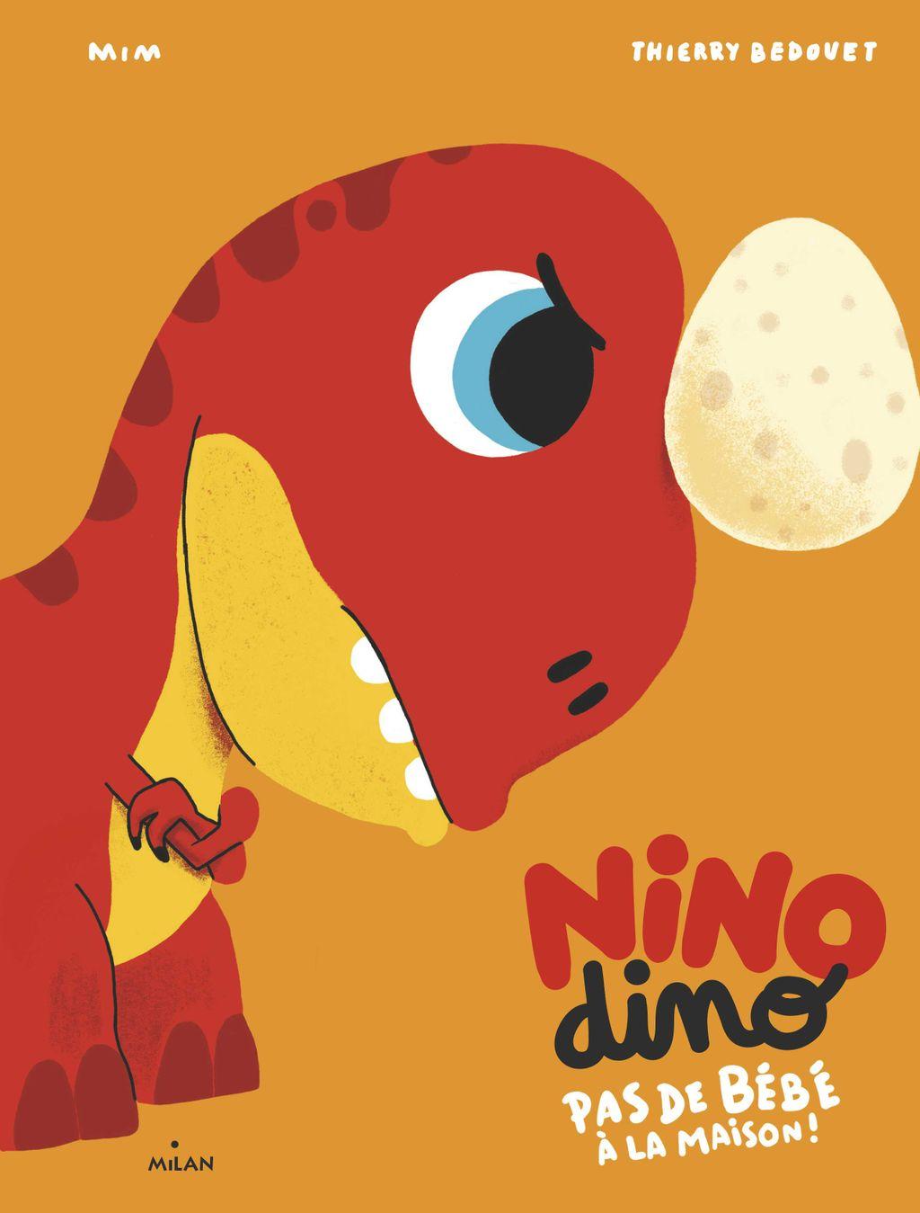 «Nino Dino – Pas de bébé à la maison!» cover
