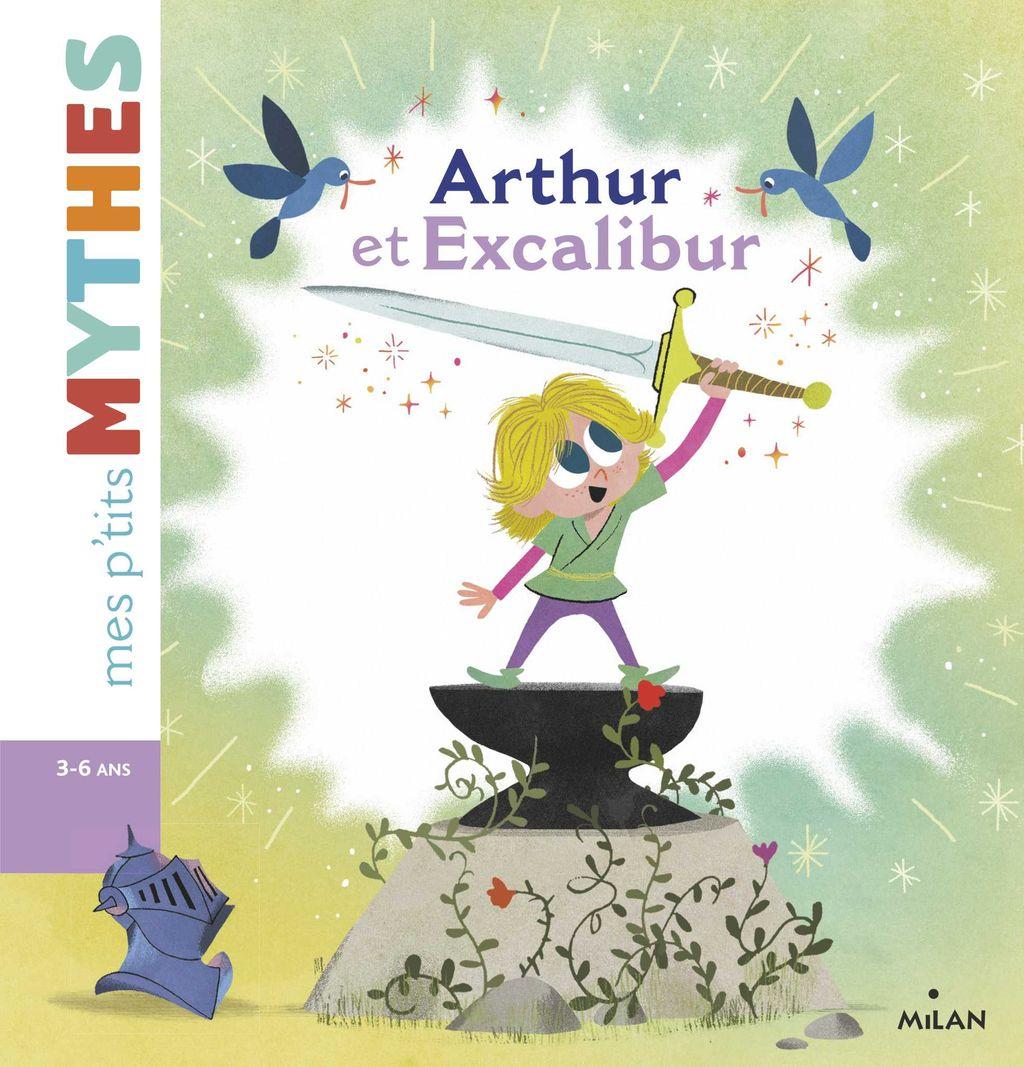 Couverture de «Arthur et Excalibur»