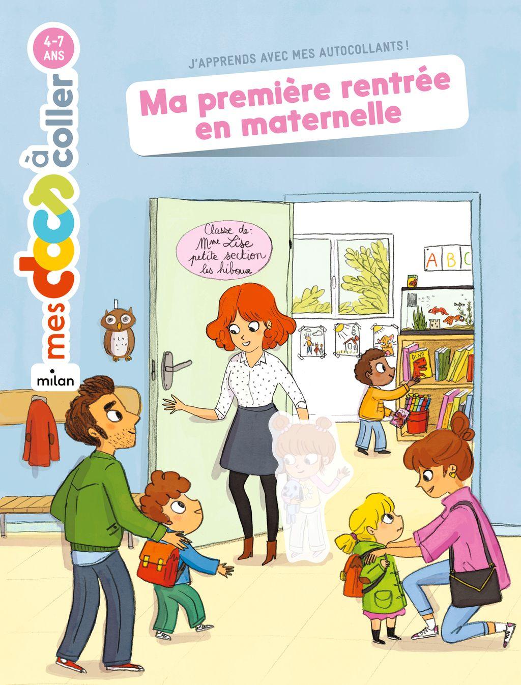 Couverture de «Ma première rentrée en maternelle»