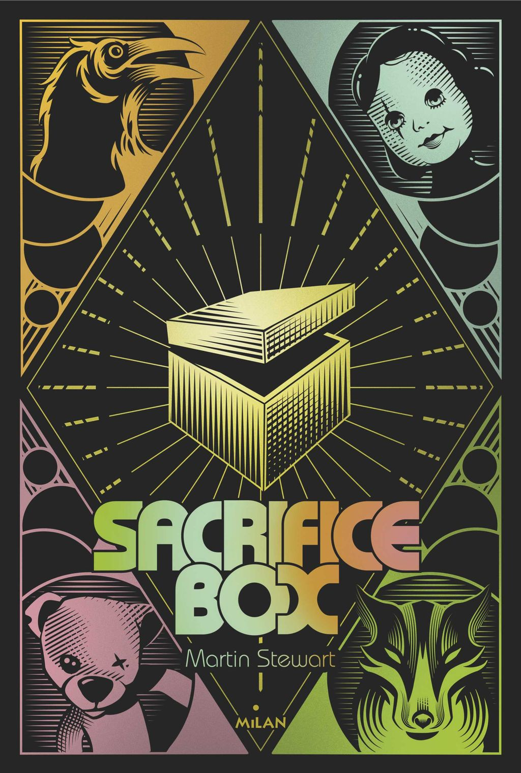Couverture de « Sacrifice box »