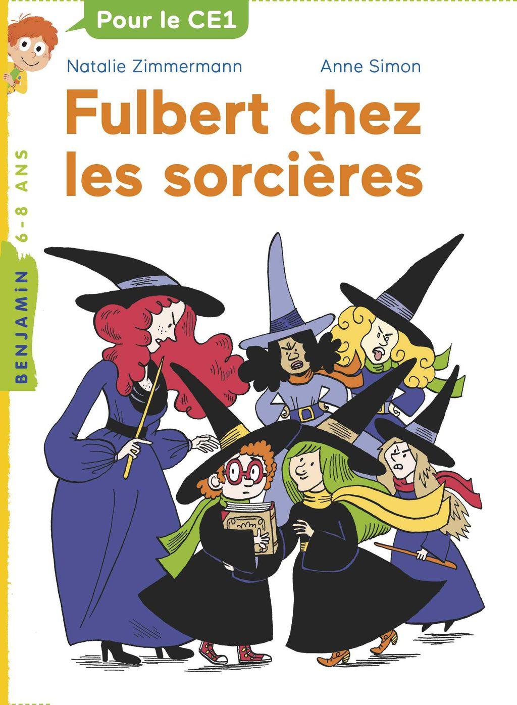 Couverture de «Fulbert chez les sorcières»