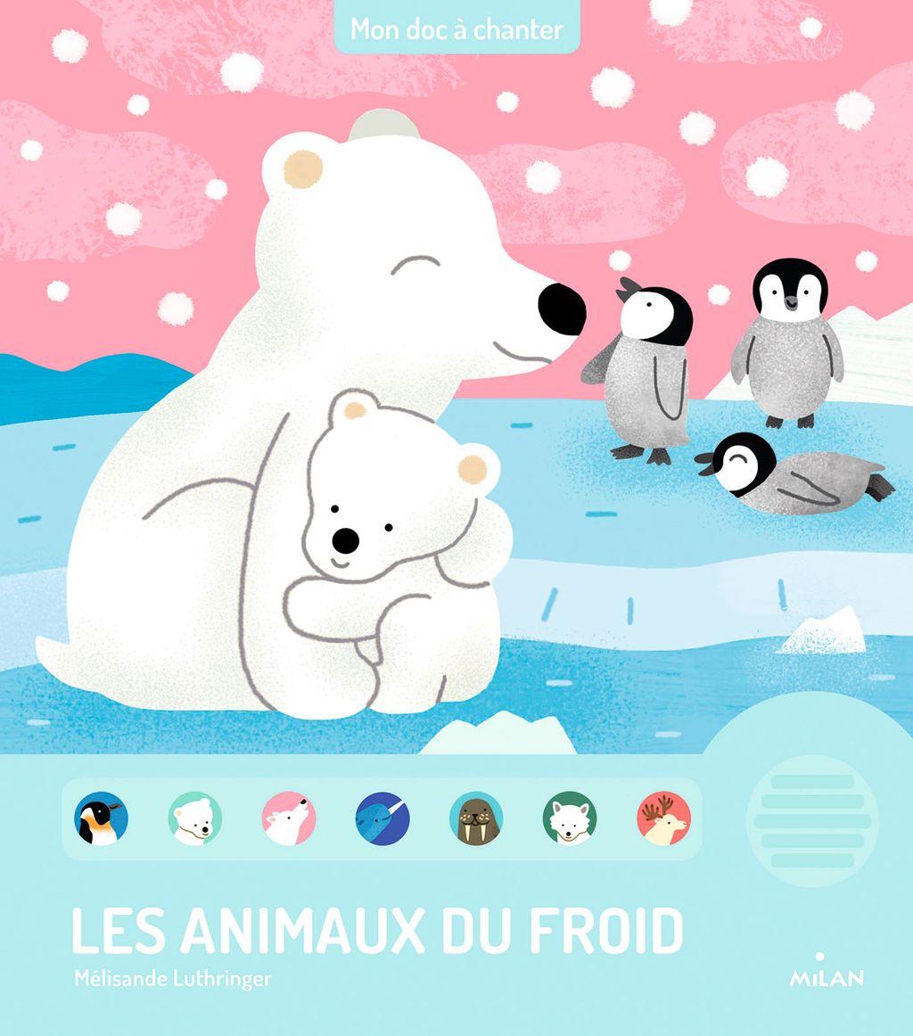 Couverture de «Les animaux du froid»