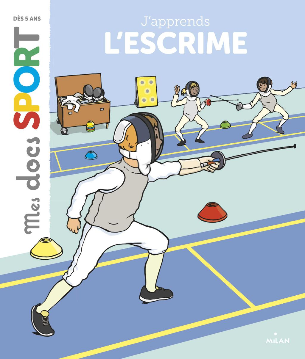 Couverture de « J'apprends l'escrime »