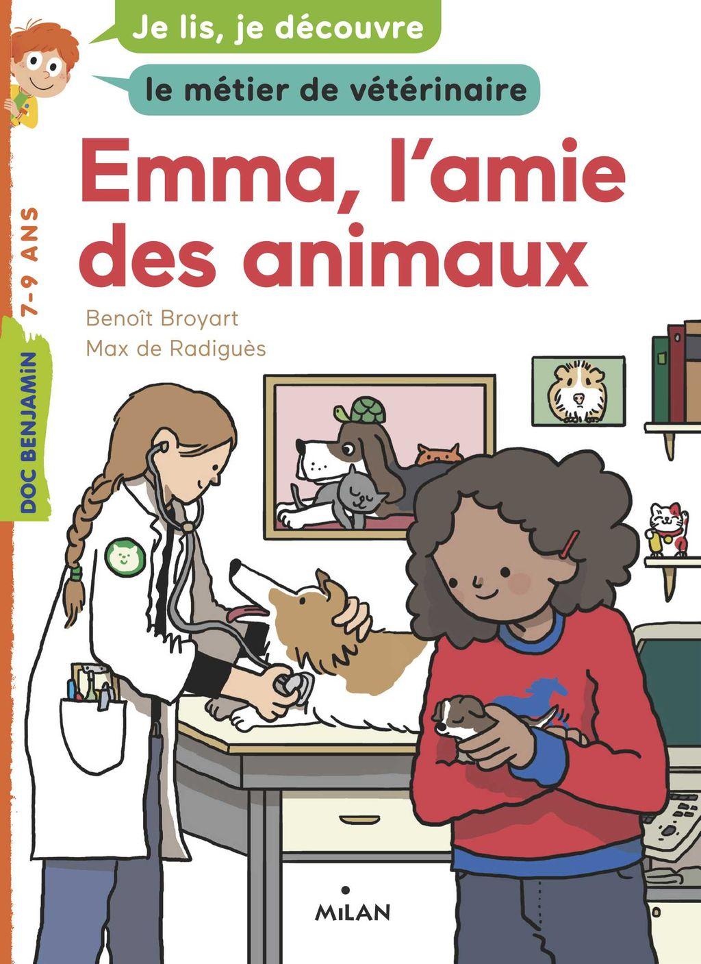 Couverture de «Emma, l'amie des animaux»