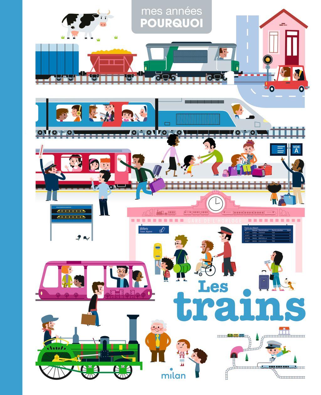 Couverture de «Les trains»