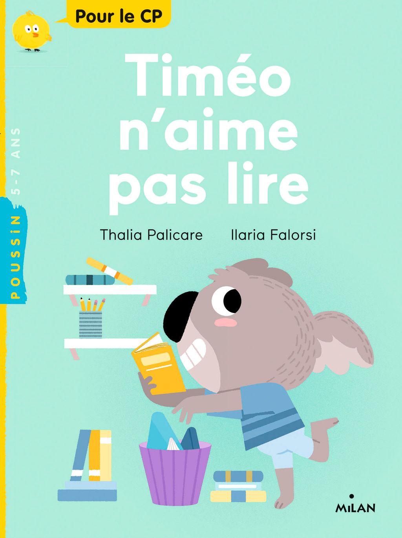 Couverture de «Timéo n'aime pas lire»