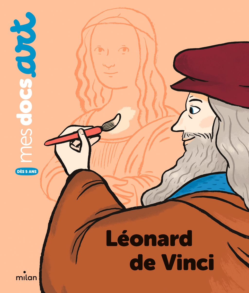 Couverture de «Léonard de Vinci»