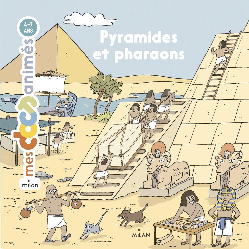Couverture de «Pyramides et pharaons»