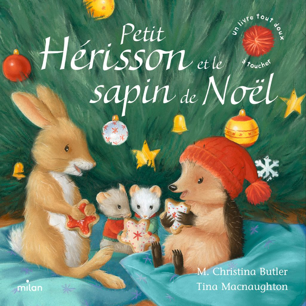 Couverture de «Petit Hérisson et le sapin de Noël (tout-carton)»