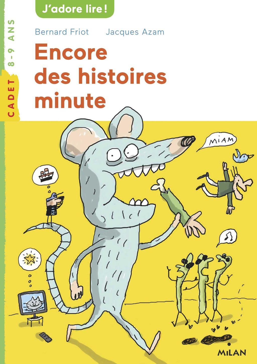 Couverture de «Encore des histoires minute – NE»