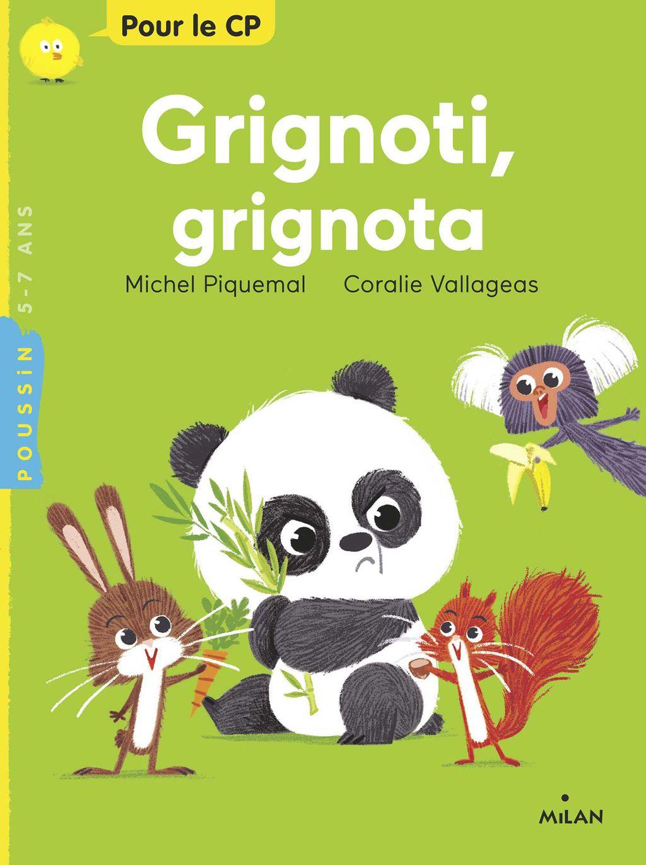 Couverture de «Grignoti, grignota»