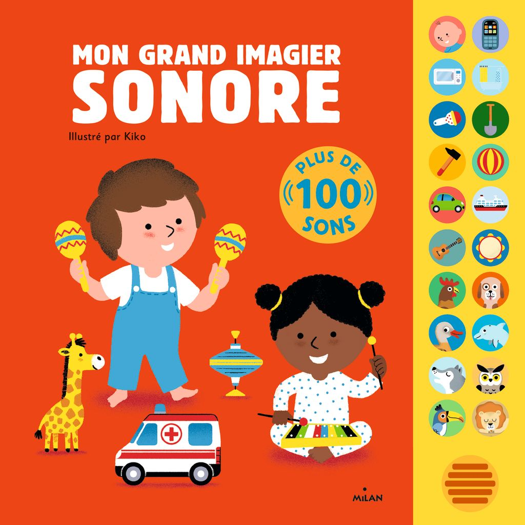 « Mon grand imagier sonore » cover