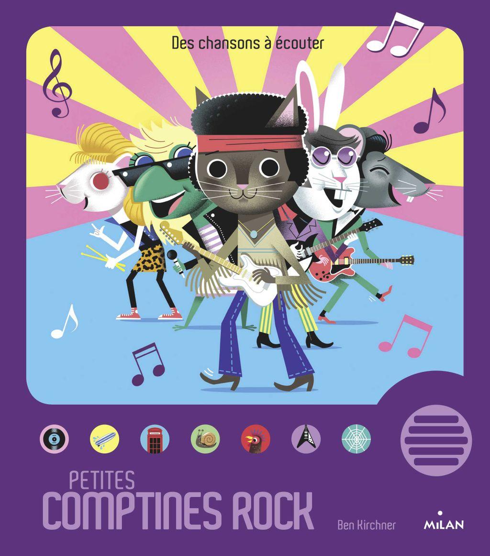Couverture de «Petites comptines rock»