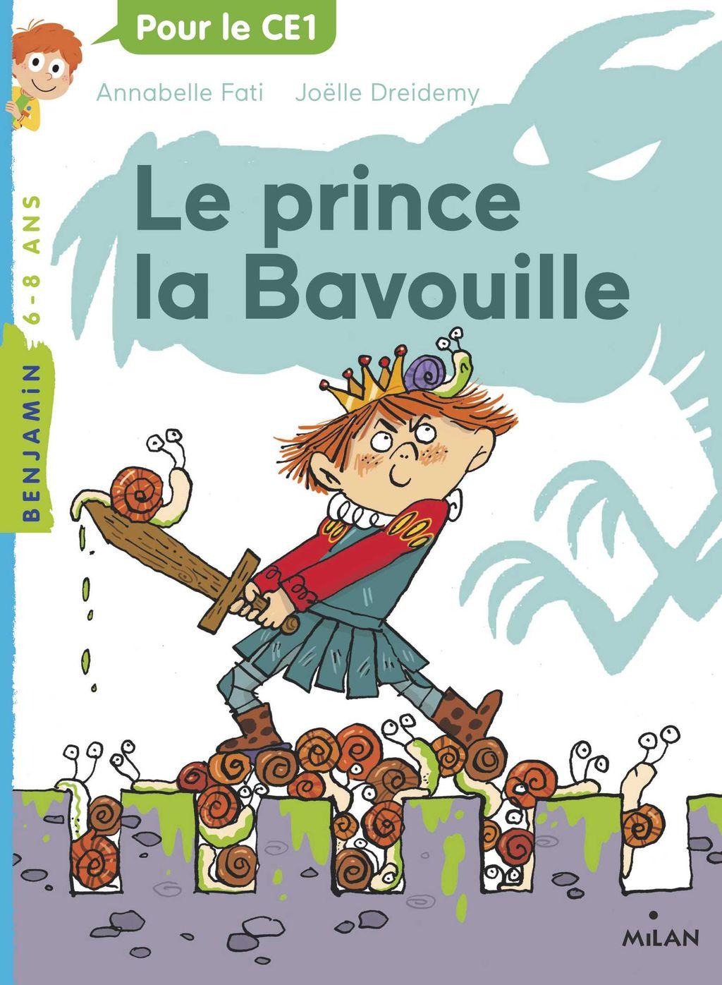 Couverture de «Le prince la Bavouille»