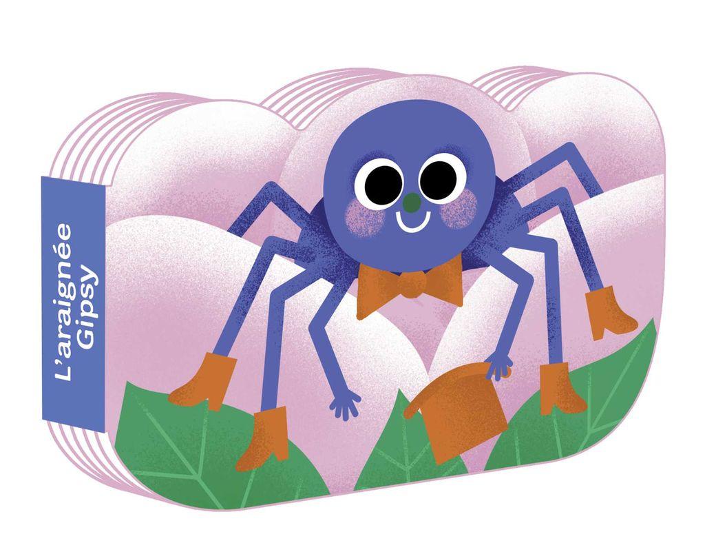 Couverture de «L'araignée Gipsy»