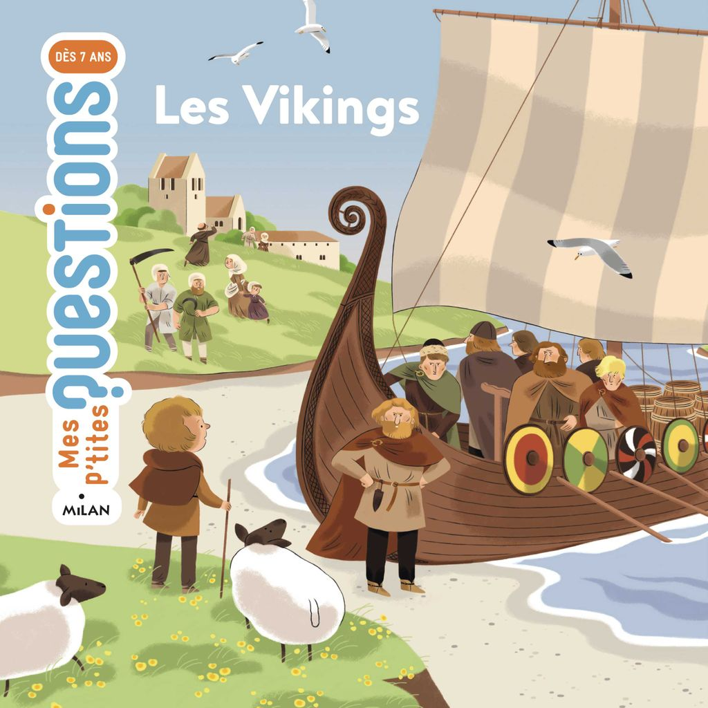 « Les Vikings » cover