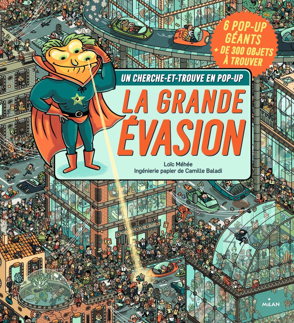 «Cherche et trouve – La grande évasion» cover