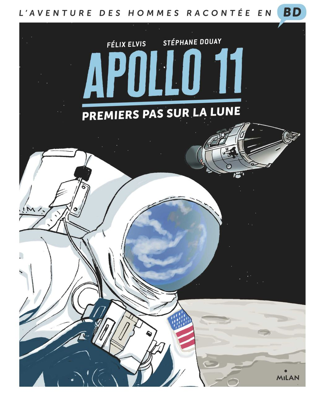 Couverture de « Apollo 11 »