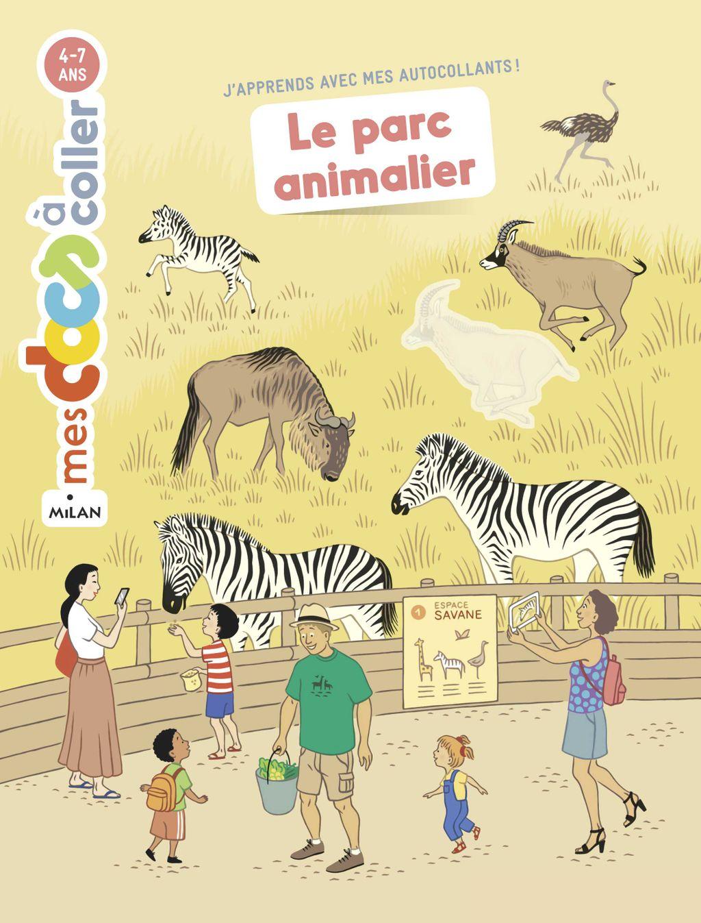 Couverture de «Le parc animalier»