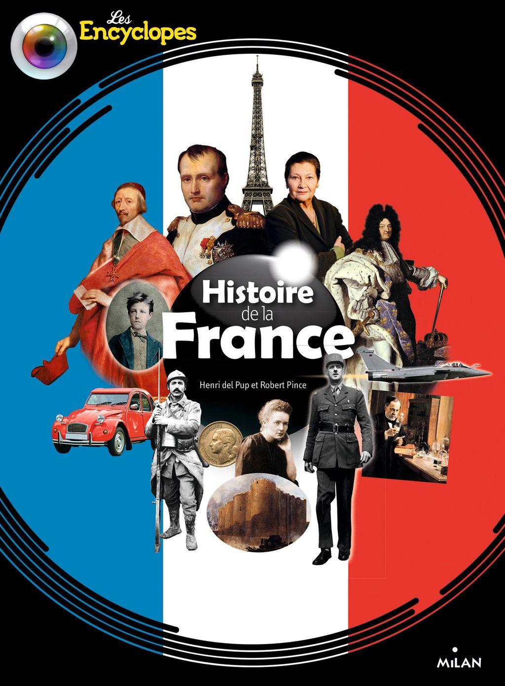 Couverture de «Histoire de la France NE»