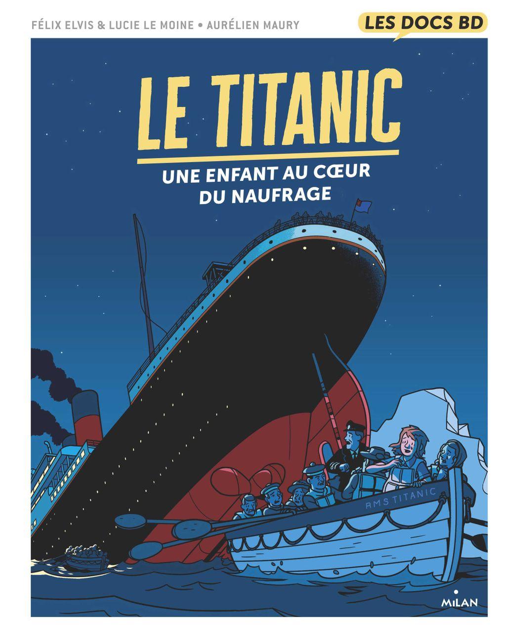«Le Titanic» cover
