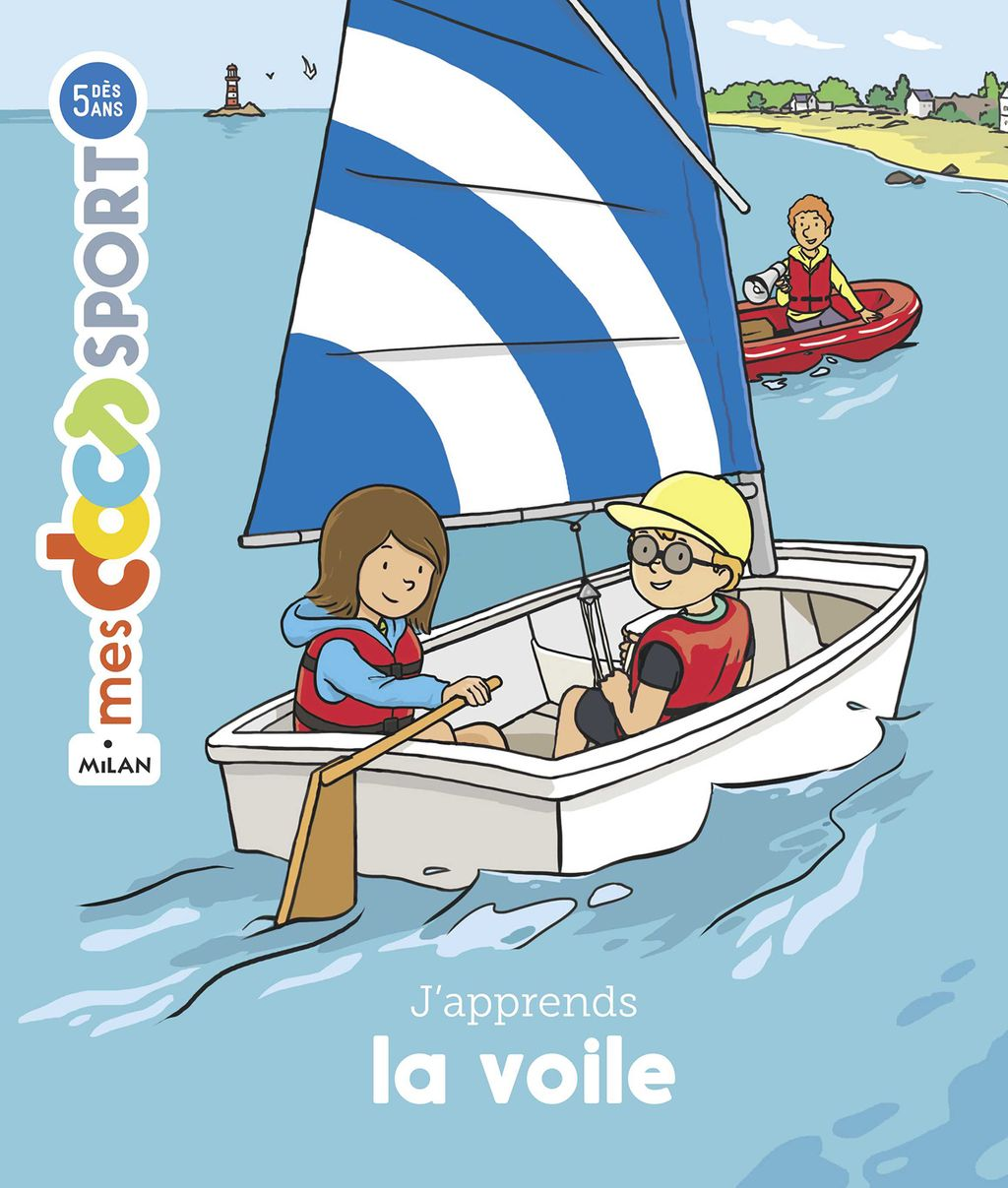 Couverture de « J'apprends la voile »